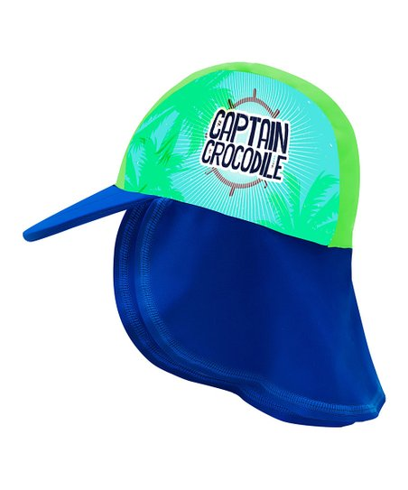 love this product Blue   Green  Captain Crocodile  Desert Hat - Infant 19e98c994fb