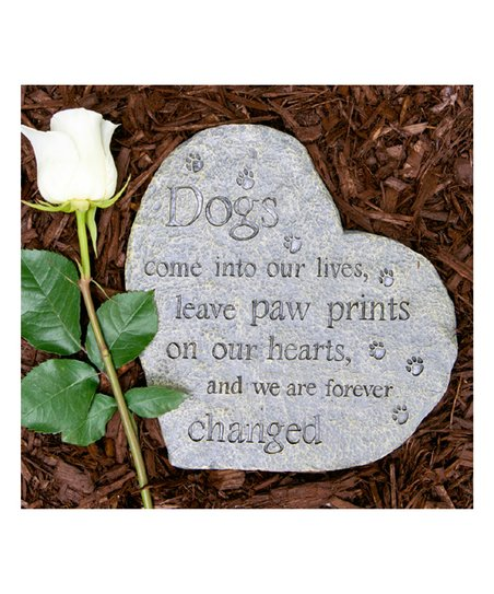 Dog Speak Cards Dogs Come Into Our Lives Garden Stone Zulily