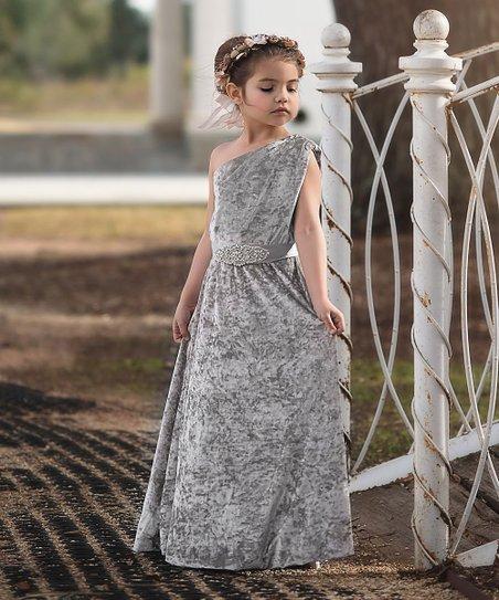 020e5f9b2 Trish Scully Child Silver Gianna Dress - Toddler