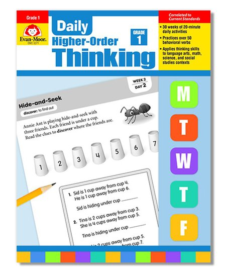 Evan-Moor Educational Publishers Grade 1 Daily Higher-Order Thinking  Workbook