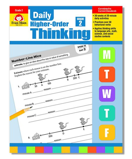Evan-Moor Educational Publishers Grade 2 Daily Higher-Order Thinking  Workbook