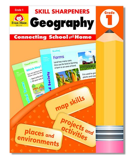 Evan-Moor Educational Publishers Grade 1 Skill Sharpeners: Geography  Workbook