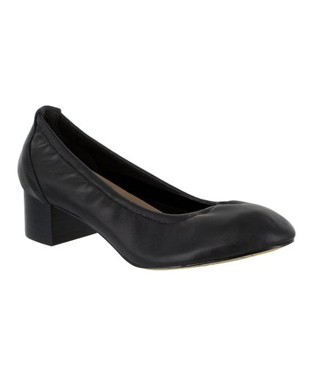 4ac0c9ef132 Bella Vita Black Mattie Leather Pump - Women