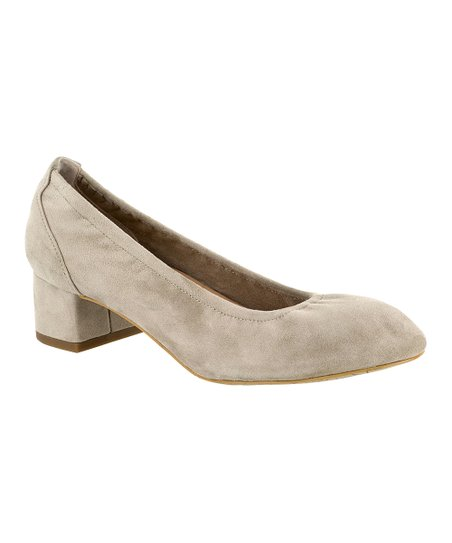 cdcb82360d4 Bella Vita Almond Mattie Suede Pump - Women