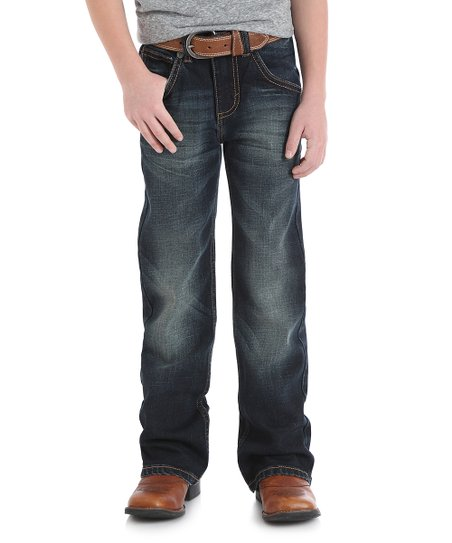 cc98992c love this product Dark Wash Bootcut Jeans - Infant, Toddler & Boys