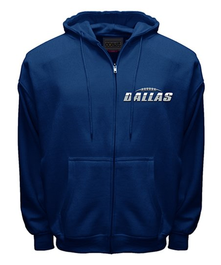 best website 2369a b1e33 MTC Dallas Cowboys Zip-Up Hoodie - Men's Regular
