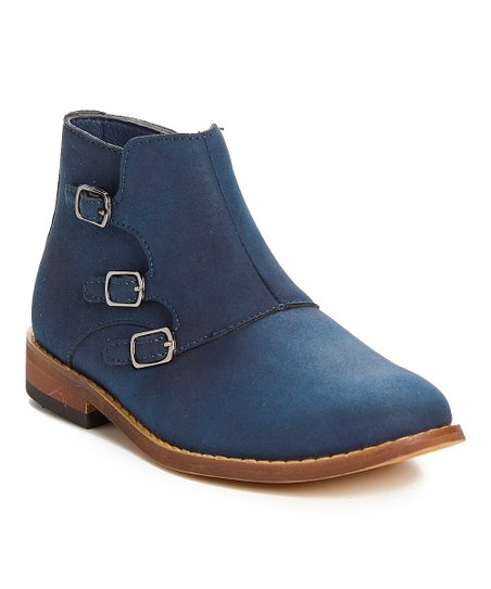 9441e0b4e063 love this product Navy Ankle Boot - Boys