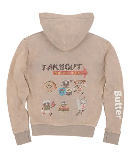 81a069445 love this product Alloy 'Takeout Drive-Thru Fast Food' Zip-Up Hoodie - Girls
