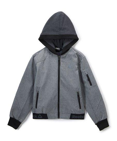 b470b7097 Reebok Gray Zip-Up Hoodie - Toddler