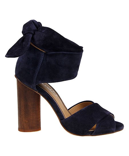 e752861335d5 love this product Navy Johnson Suede Sandal - Women