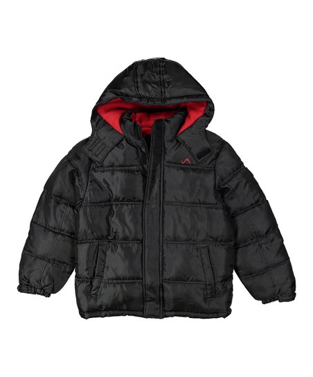 be3386269df Vertical 9 Black Bubble Puffer Jacket - Toddler