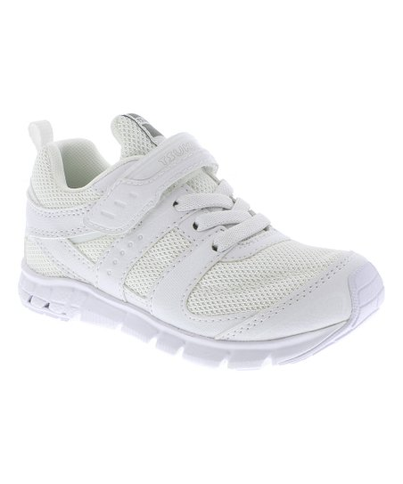 daac5e153f38 love this product White   White Velocity Sneaker - Boys