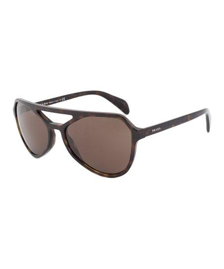 75e7ca6fa2 love this product Dark Havana   Brown Double-Bridge Cat-Eye Sunglasses