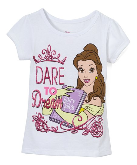 dd80625a6 love this product Disney Princess Belle White 'Dare to Dream' Tee - Toddler