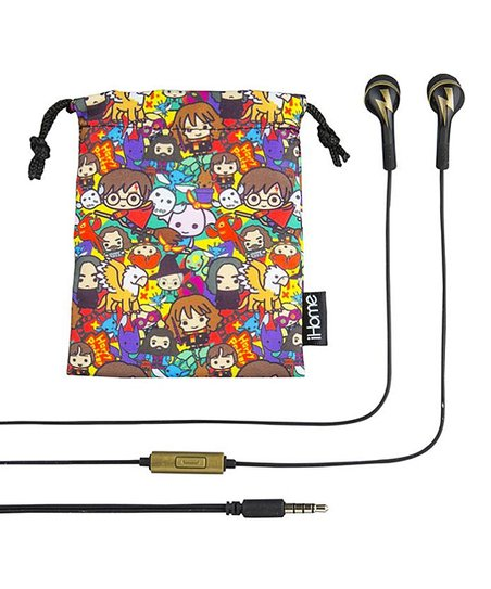 KIDdesigns Harry Potter Call-Answer Earbuds