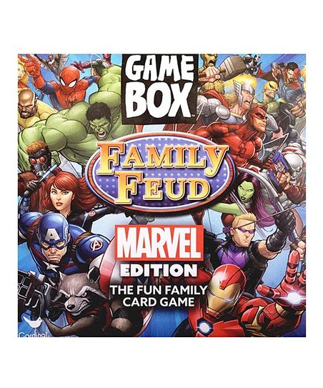 Cardinal Industries Family Feud Marvel Card Game