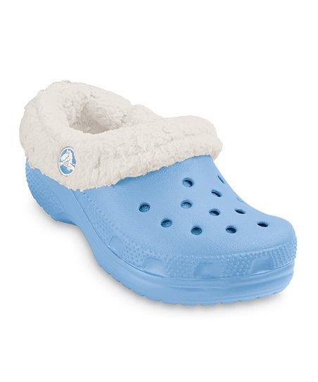 653727222d5ab Crocs Light Blue   Oatmeal Mammoth Clog