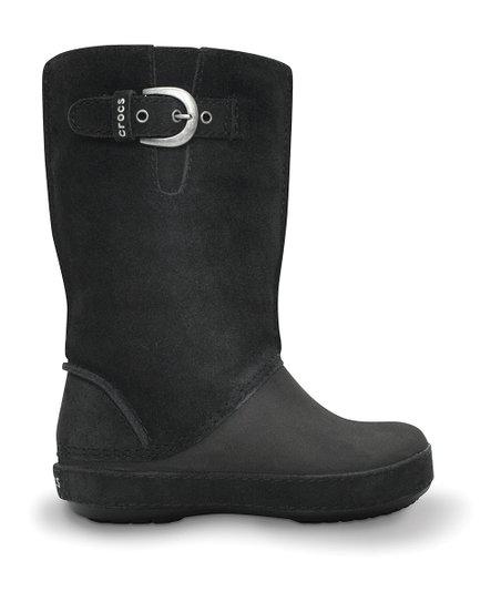 556ca3054410d Crocs Black Berryessa Zip Boot - Kids