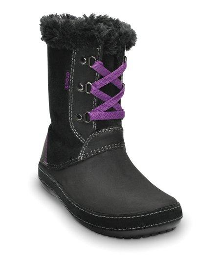 f72541b1944 Crocs Black Berryessa Hiker Boot - Women