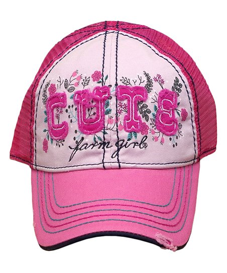 8a6686161c7 love this product Pink Floral  Cute  Trucker Hat