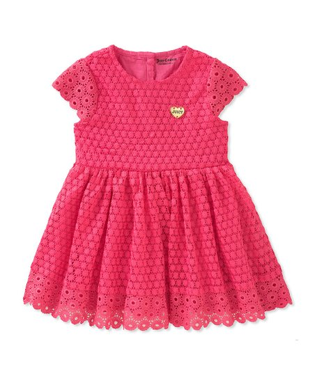 love this product Pink Eyelet A-Line Dress - Toddler 9c65f6afed