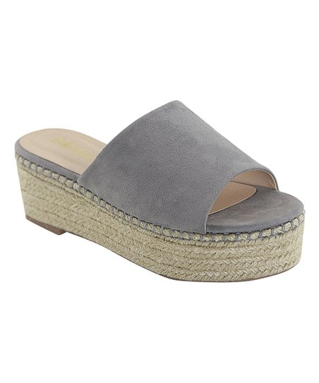 020a9f36d2c Bella Marie Gray Stewart Platform Sandal - Women