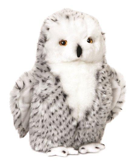 Woodland Snowy Owl Plush Toy Zulily