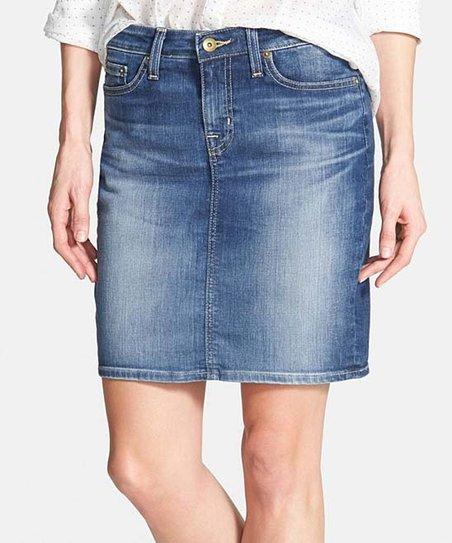 6d2e07ec083 love this product Medium Wash Kara Denim Skirt - Women