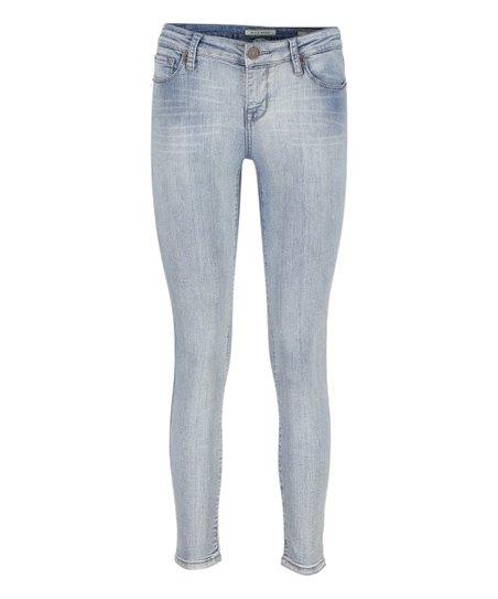 19b14f3377 MIA & MOSS Light Blue Sabine Skinny Jeans - Women & Plus | Zulily