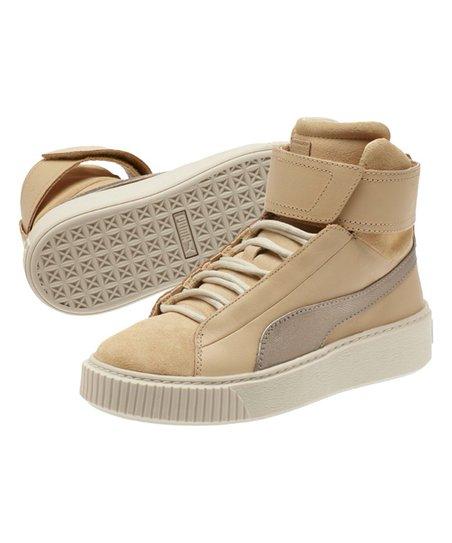 8648b8ecb46 love this product Natural Vachetta   Birch Basket Platform Mid Up Sneaker