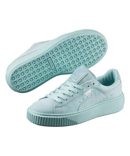 891adba0727d PUMA Aruba Blue Basket Platform Reset Sneaker