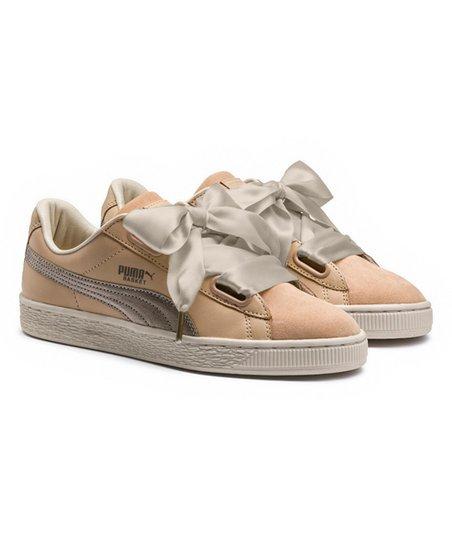separation shoes d3e24 f6fdb PUMA Natural Vachetta Basket Heart Up Sneaker - Women
