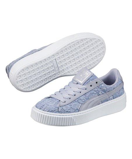 PUMA Icelandic Blue Basket Platform Sneaker Women