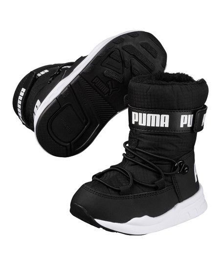 19022ad3c8b5be PUMA Black Trinomic Boot - Infant