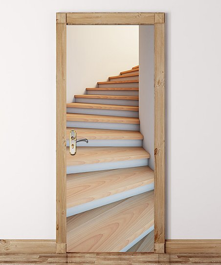 Love This Product Stairwell Two Piece Door Sticker Set