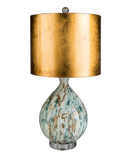 Gold Blue Gabriel Table Lamp Zulily