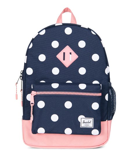 a104b5d823bd love this product Peacoat Polka Dot   Strawberry Ice Youth Heritage Backpack
