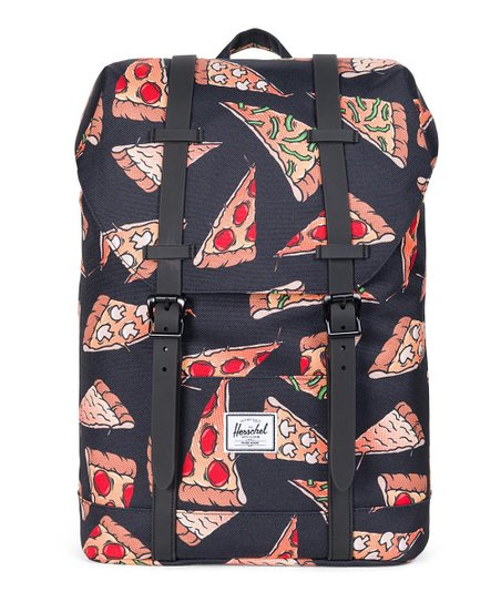 7ea063f34a11 Herschel Supply Co. Black Pizza Youth Retreat Backpack