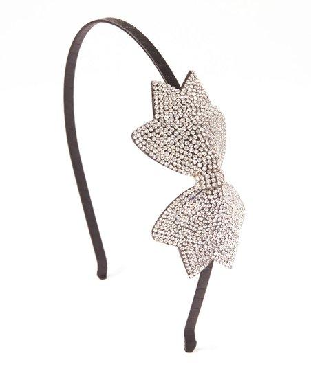 Picki Nicki Hair Bowtique Rhinestone Bow Headband  5b62be0ebf8
