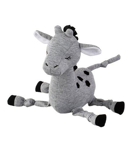 Ganz Gray Giraffe Rattle Plush Toy Zulily