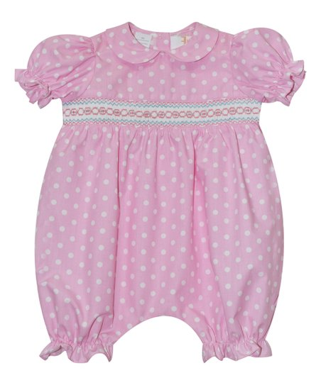 c1b11ae92c1 love this product Pink Dot Smocked Bubble Romper - Infant