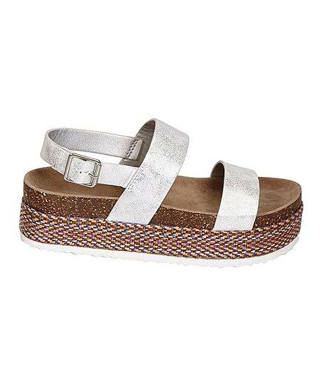 930f167630ab love this product Silver Mesa Platform Sandal - Women