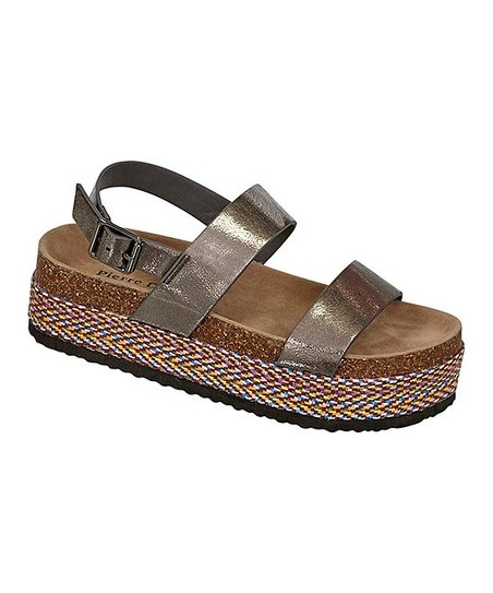 c294f86bbdd love this product Pewter Mesa Platform Sandal