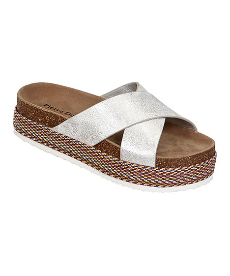 5f08fb0638e8 love this product Silver Mesa Platform Slide - Women