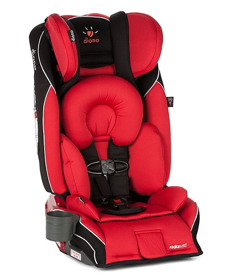 Red Radian RXT All In One Convertible Car Seat