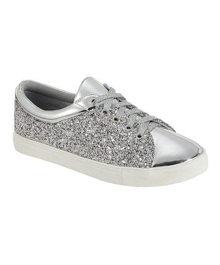 Silver Sparkle Sneaker - Women | Best