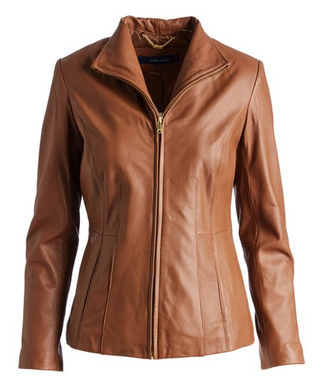 Cole Haan Hazel Leather Jacket Women Zulily