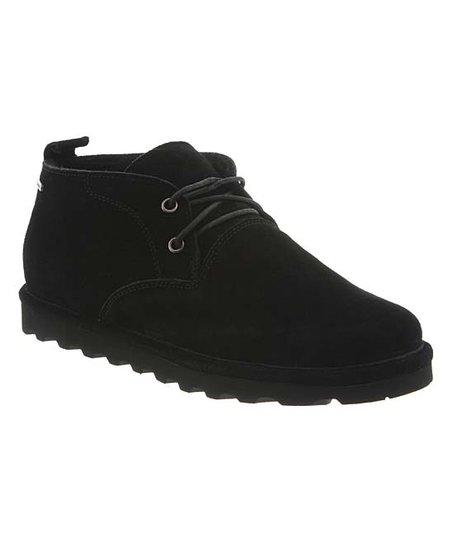 d33cd09e50592 BEARPAW Black Spencer II Suede Chukka Boot - Men | Zulily
