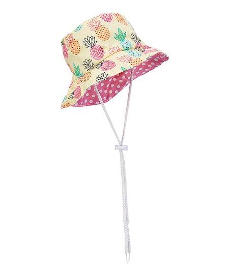 dcd03f37714 Caught Ya Lookin Pink Pineapple Bucket Hat
