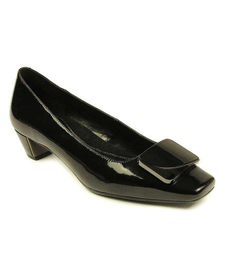 7b4ab90225a VANELi® Black Latham Patent Leather Pump - Women